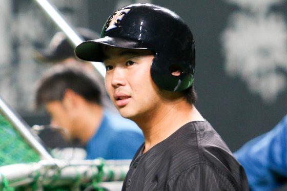 北海道日本ハム横尾、1か月ぶりの1軍昇格「チャンスで出たら本塁打を」
