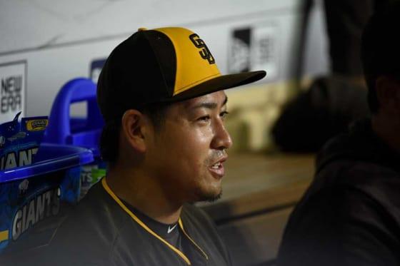 "【MLB】""髭面""の牧田和久、同郷「キング」カズとの2ショット公開「凄かったです」"