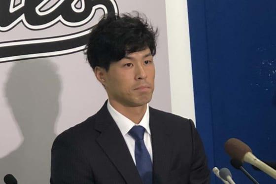 千葉ロッテ岡大海が10月11日に一般女性と入籍「より責任をもって野球に取り組みたい」