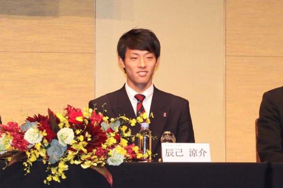 東北楽天が新人の背番号を発表 ドラ1辰己涼介は松井稼頭央の「7」、太田光は「2」