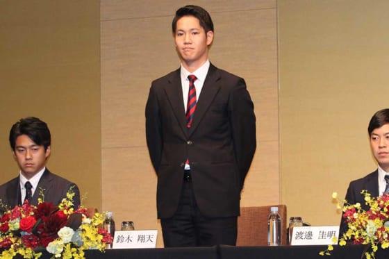 東北楽天ドラフト8位・鈴木翔天が大学先輩目指し最多勝誓う 「憧れている面が多かった」