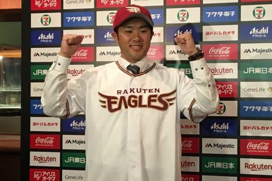 東北楽天が来季の育成契約選手を発表 由規、吉持、寺岡、下妻ら14選手