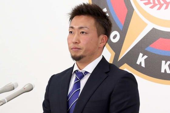 北海道日本ハム井口、500万円増も成績には納得せず「貪欲に難しいポジションを狙う」