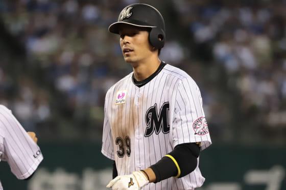 千葉ロッテが吉田と岡の背番号変更を発表 岡は「39」から「25」に