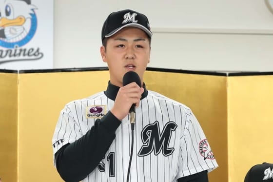 千葉ロッテドラ4山口、北海道日本ハム吉田にプロでのリベンジ誓う「ホームランを打って…」
