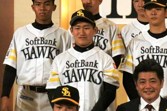 鷹ドラ3野村、狙うは先輩・清宮超え「本塁打、打率、打点全てで勝てるように」