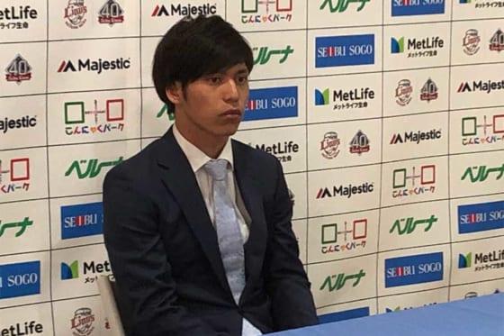埼玉西武、ドラ1齊藤大は1600万円でサイン 制球難解消へ「四死球を半分に」