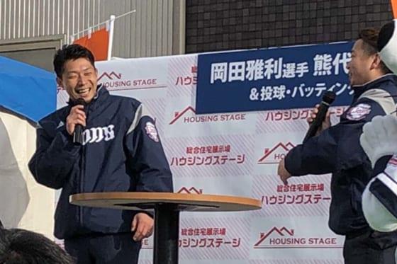 埼玉西武熊代がV貢献で話題の「訓示」を生披露 「ミツバチ打線」にファン大喜び