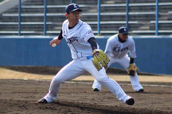 埼玉西武ドラ4粟津、プロ初登板でG阿部の打球にびっくり 「ゲームみたい」