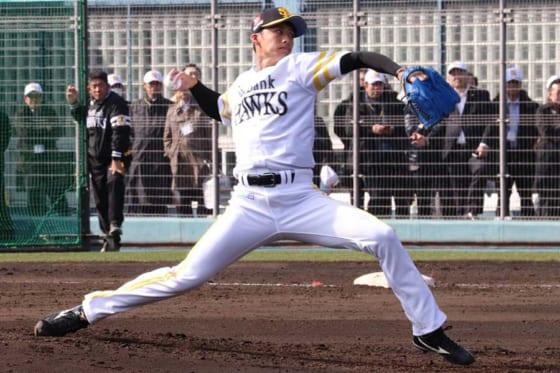 福岡ソフトバンクのドラ4板東がインフルエンザで離脱…球団発表