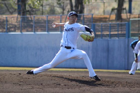 埼玉西武、2010年ドラ1・大石が1軍昇格へ 投手陣入れ替えで開幕へ陣容固める