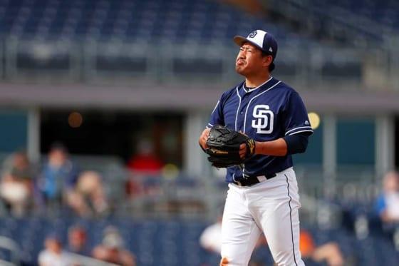 【MLB】パドレス傘下2Aの牧田和久、3ラン被弾で1回4失点の乱調 防御率7.71に悪化