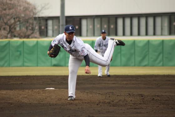 埼玉西武榎田、実戦復帰で2回0封「まずはよかった」 17日の2軍戦で先発へ