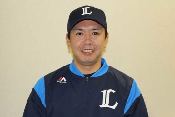 今年からアカデミーコーチに就任した長田秀一郎さん※写真提供:Full-Count(写真提供:埼玉西武ライオンズ)