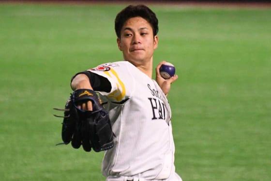 鷹大竹、防御率0点台でも今季0勝… 倉野C「リーグでもトップクラスの働き」