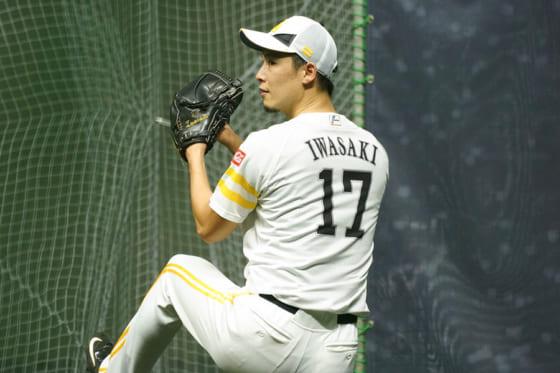 福岡ソフトバンク岩嵜、実戦復帰へ前進 2度目打撃投手で30球「次は試合で」