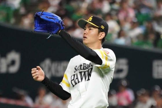 【日本S】鷹、高橋礼が7回1安打無失点 7回途中までノーノーも「絶対に無理だと思ってた」