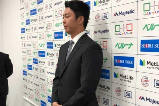 埼玉西武十亀、FA宣言残留を表明「いい契約を頂いた。渡辺GMに仁義を通すことが一番」