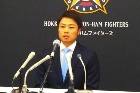 北海道日本ハム中島、FA権行使せず3年契約合意 一問一答「『残ってほしい』の言葉が一番」