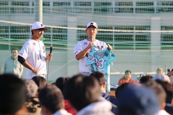 千葉ロッテが鴨川市に191.9万円寄付へ オークションで福浦コーチのバットに42万円