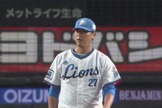 埼玉西武・内海、打球直撃で4回8安打4失点 本拠地勝利ならずも「温かい拍手」に感謝