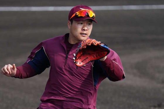楽天、3選手の背番号変更を発表 釜田が「41」、菅原は「59」、武藤が「50」