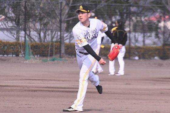 開幕投手に決定の鷹・石川柊太 工藤監督に呼ばれ「あれ? 何かやらかしたかなと」