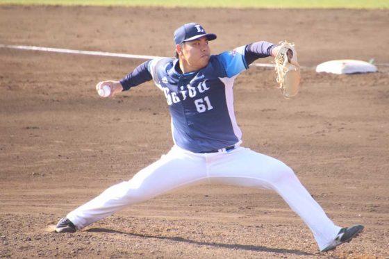 埼玉西武・平良海馬が驚きの156キロをマーク 今井達也も最速154キロで3回零封