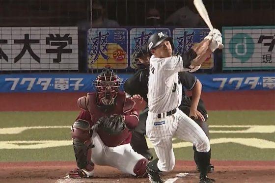 千葉ロッテ荻野貴司、リーグ11年ぶりの2戦連続先頭弾。佐々木朗希の登板日だけで4本目
