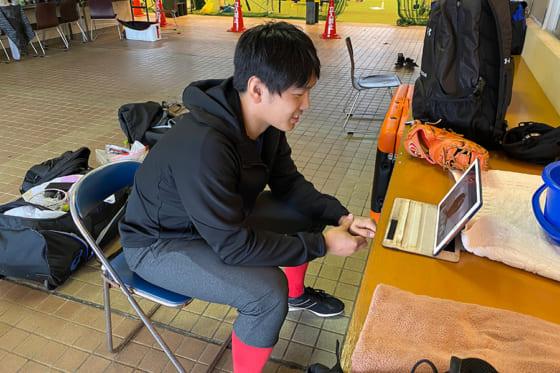 """昨季""""2冠""""の鷹・石川柊太、新球習得に意欲「カーブとカットボールの間のような…」"""