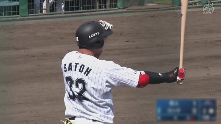 【ファーム】佐藤都志也、福田光輝、茶谷健太が本塁打! 千葉ロッテが5連勝