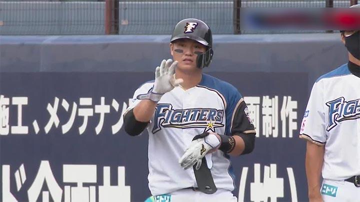 【ファーム】移籍後初出場の佐藤龍世が同点打! 北海道日本ハムがオリックスに快勝