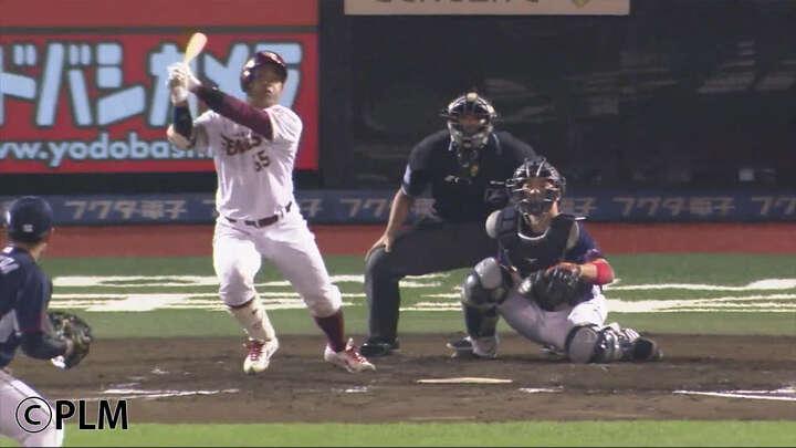 プロ初安打が適時三塁打!3年目の若鷲・堀内謙伍選手がスタメンマスク抜擢に応えた