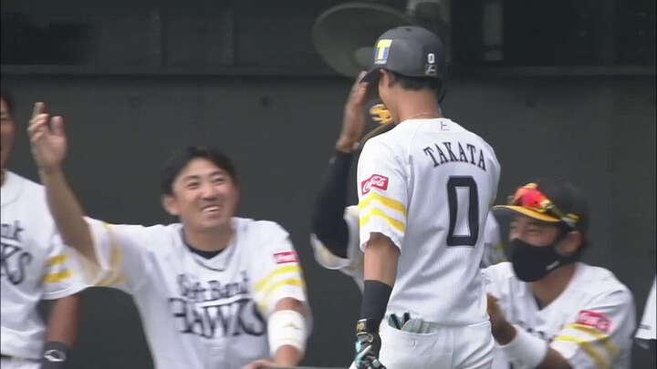 【ファーム】高田知季が3安打3得点。9投手のリレーで福岡ソフトバンクが最終戦勝利
