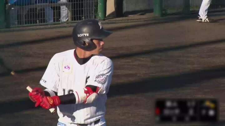 【ファーム】加藤翔平の適時打で反撃も、19失点で千葉ロッテが大敗