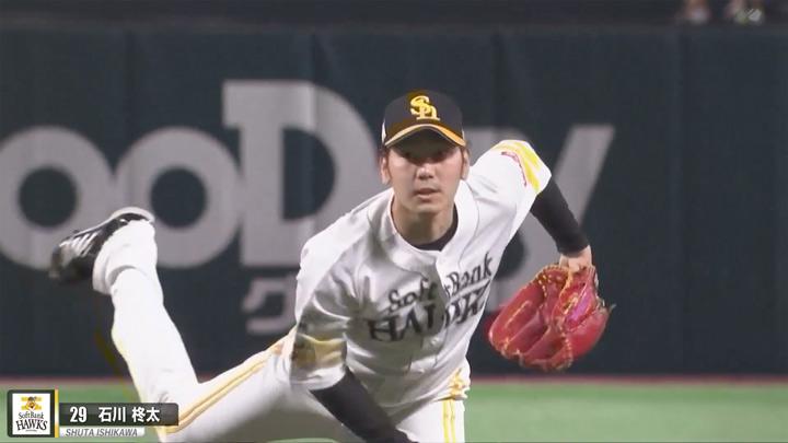 福岡ソフトバンクホークス・石川柊太投手(C)パーソル パ・リーグTV