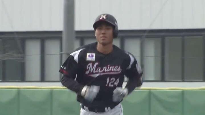 【ファーム】茶谷健太が4安打3打点。千葉ロッテが10得点で埼玉西武に快勝