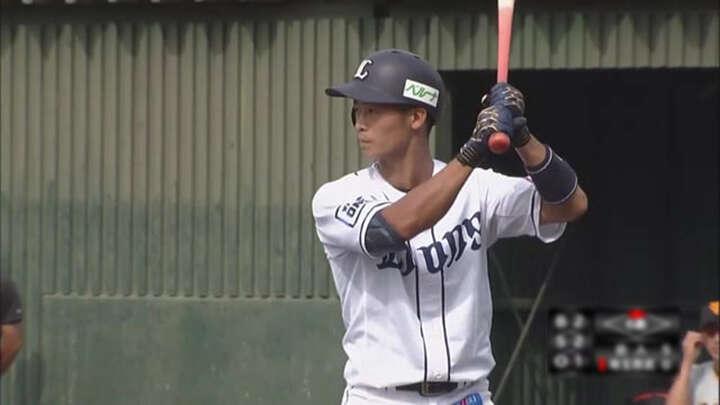 【ファーム】田村伊知郎が2被弾で埼玉西武3連勝ならず。綱島龍生は適時打