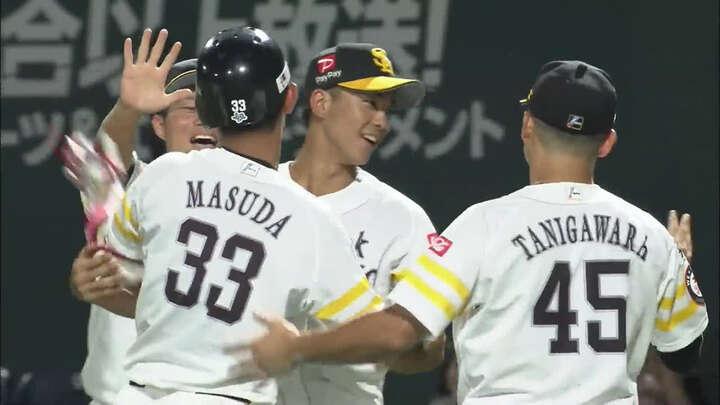 【ファーム】増田珠が大逆転のサヨナラ打。福岡ソフトバンクが広島に劇的勝利