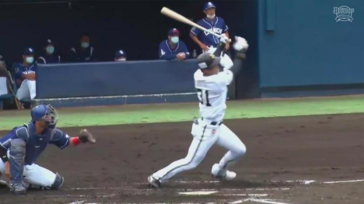 【ファーム】4番・太田椋に1号ソロホームランも…… 投手陣が崩れオリックスが敗戦