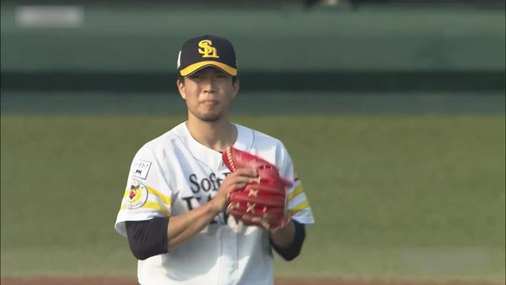 福岡ソフトバンクホークス・千賀滉大投手(C)パーソル パ・リーグTV