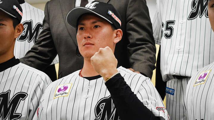 最多ホールド目指す千葉ロッテドラ2・東妻投手 埼玉西武ドラ1が「一番のライバル」