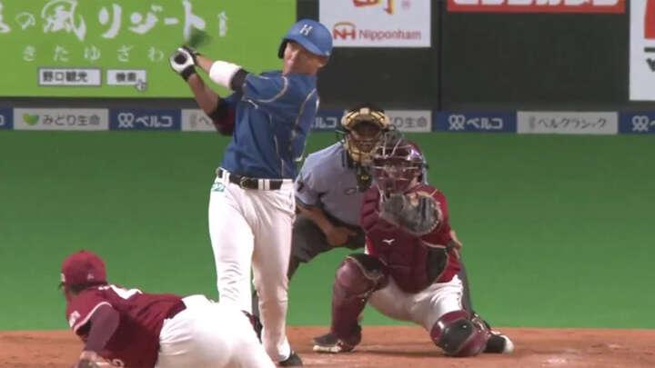 有原航平が7回1失点の好投。投打が噛み合い北海道日本ハムが連敗ストップ
