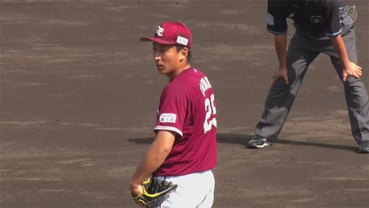 【ファーム】先発・高田孝一が6回途中1失点の好投。東北楽天が今季最終戦に勝利