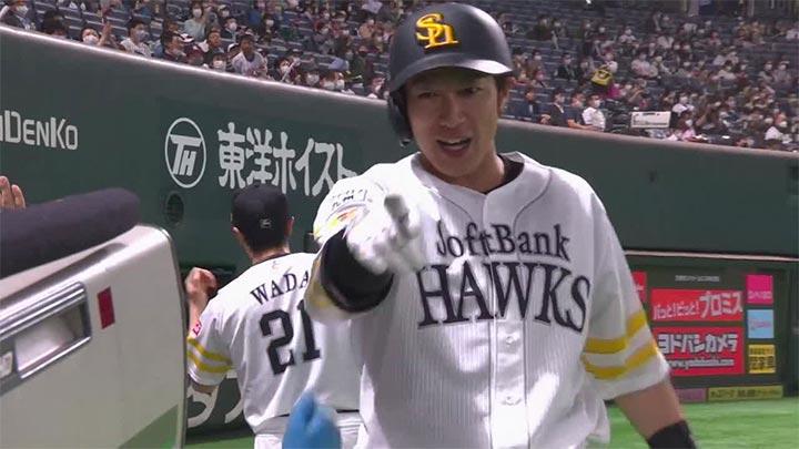 柳田悠岐と甲斐拓也に本塁打も勝ちきれず。福岡ソフトバンクと千葉ロッテの試合はドロー