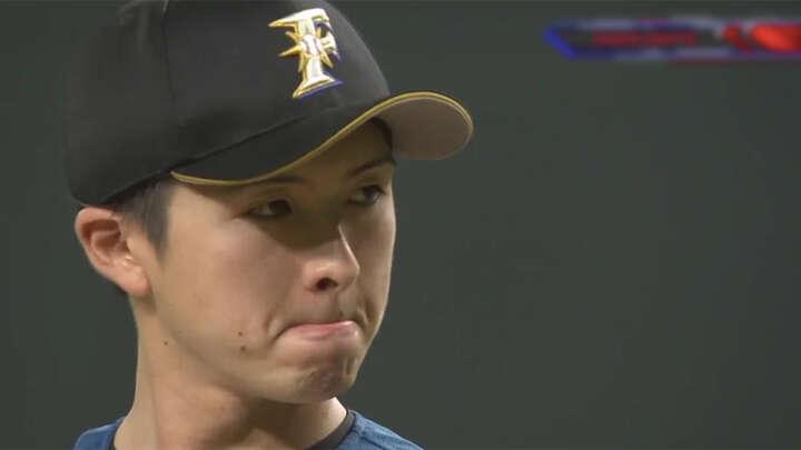 上沢直之投手(C)パーソル パ・リーグTV