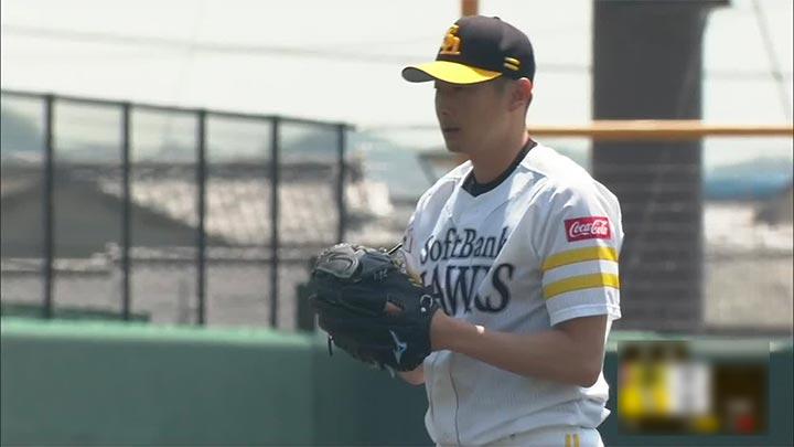 福岡ソフトバンクホークス・二保旭投手(C)パーソル パ・リーグTV