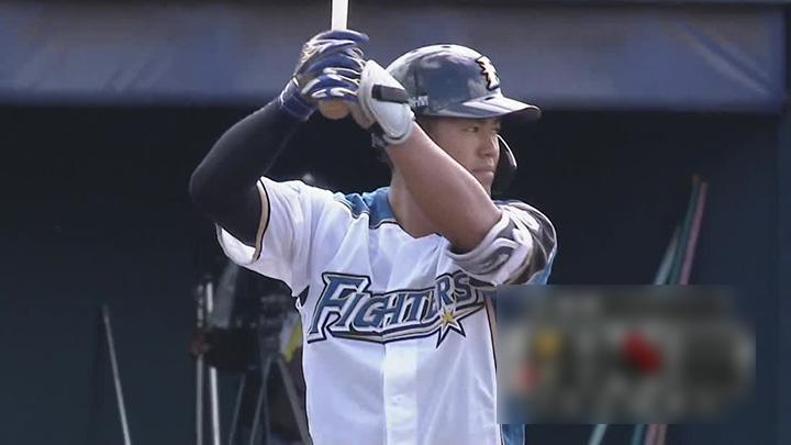 北海道日本ハムファイターズ・今川優馬選手(C)パーソル パ・リーグTV
