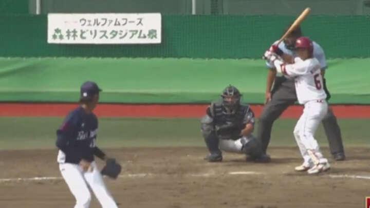 【ファーム】西巻賢二が全打席出塁。藤平尚真も6回2失点の力投で楽天が勝利