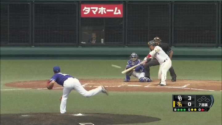 【ファーム】鷹・増田珠選手が吉見一起投手から3安打も、チームは連勝止まる